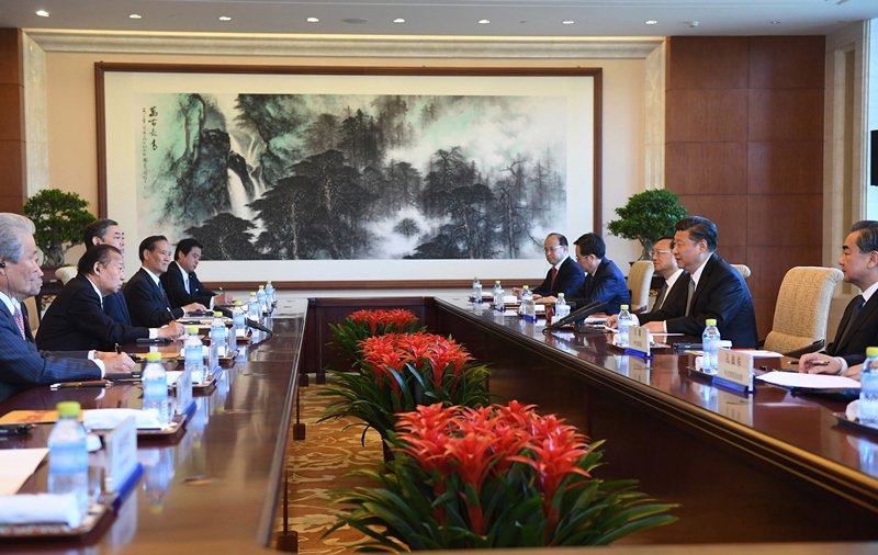 Xi Jinping: China-Japan ties are faced with both new opportunities and outstanding challenges