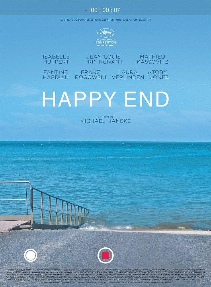 First poster for Michael Haneke's possible third Palme d'Or HAPPY END #Cannes2017 https://t.co/MDWC0SXuug https://t.co/UBzbLWt2ah