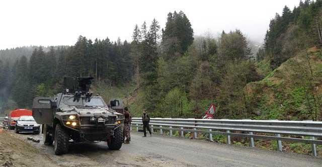 One Turkish soldier killed in clash with PKK militants in Turkey's Trabzon