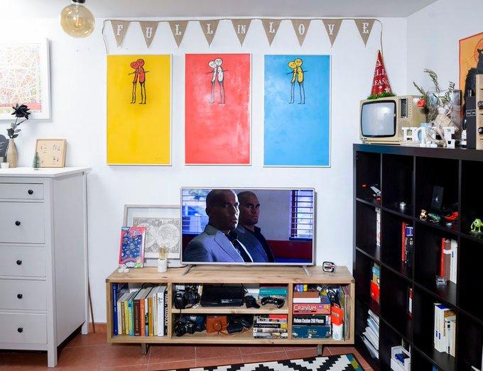 Protagonistas: La solución DIY para el salón de Kyko