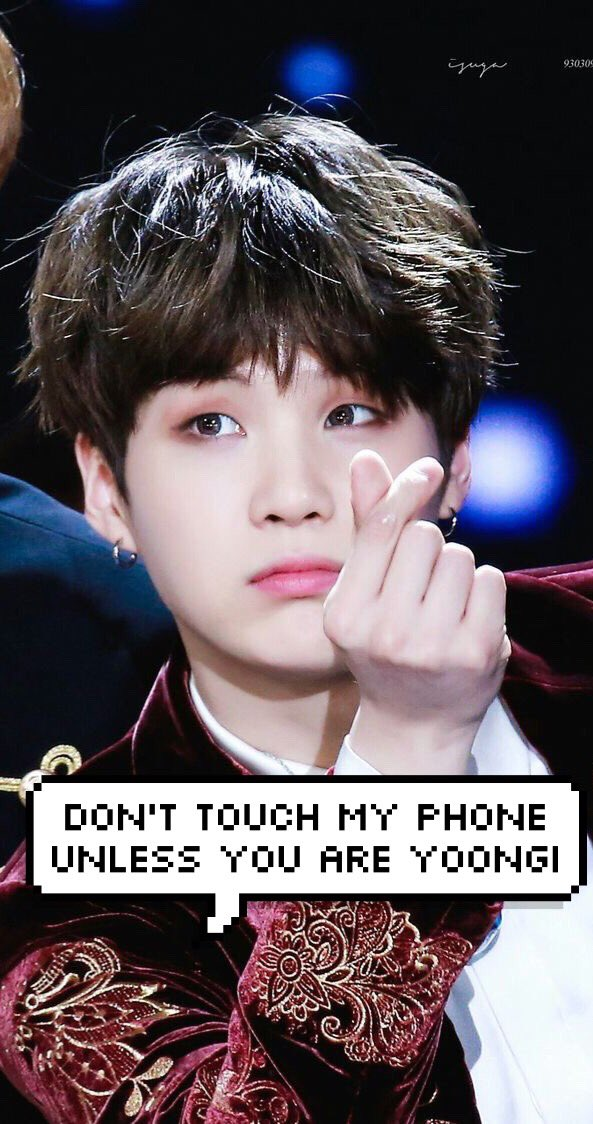 𝙱𝚃𝚂 𝚆𝙰𝙻𝙻𝙿𝙰𝙿𝙴𝚁 On Twitter Dont Touch My Phone Unless