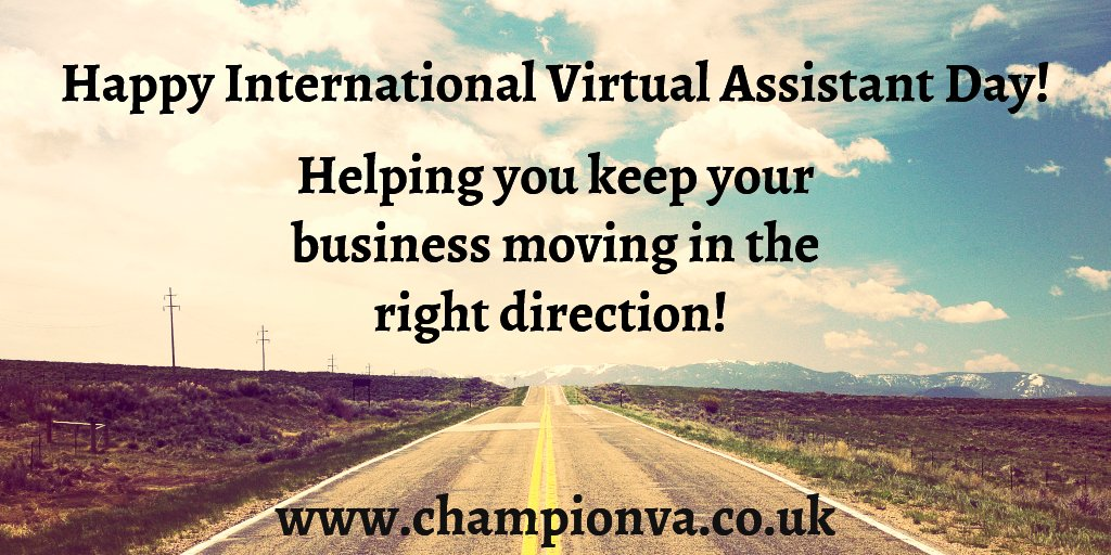#virtualassistant #focus #deliver  Happy International Virtual Assistant Day. <br>http://pic.twitter.com/A49zSKOXZx