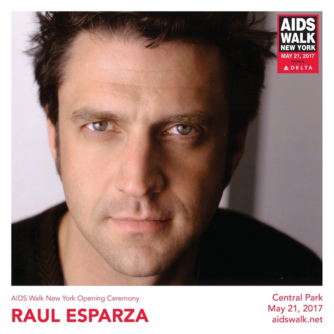 .@nbcsvu's @RaulEEsparza will be joining us for the 2017 @AIDSWalkNY Opening Ceremony! https://t.co/BfBbHp3XJH https://t.co/PtzikUzZtu