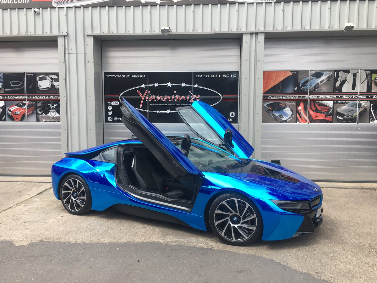 Yianni Charalambous On Twitter Chrome Blue Bmw I8 BMWiParkLane BMW ParkLane See This At The Launch Thursday Click Tco 113YKh4DzV