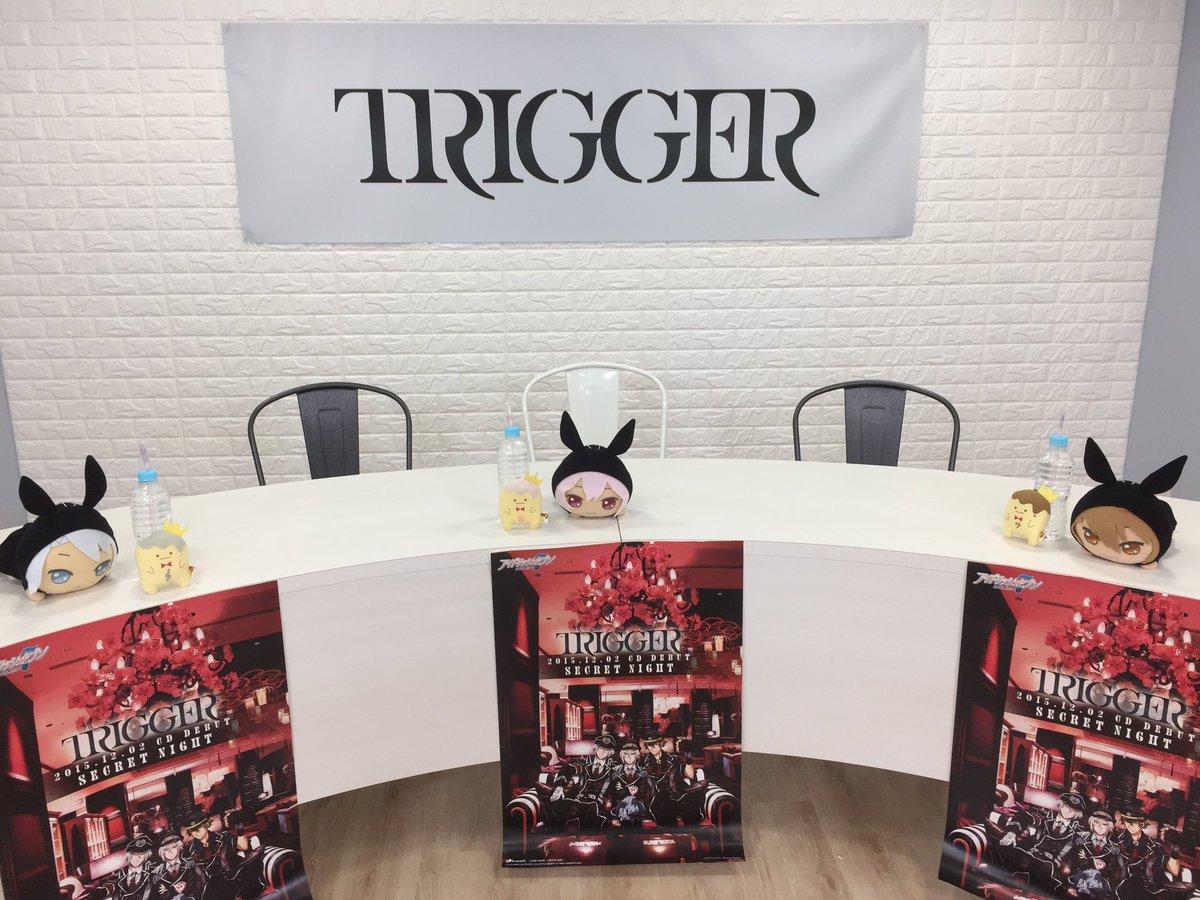 【シクナイ】あと30分ほどで、生放送番組『TRIGGERのSECRET Night!』が始まります! 会場の様子をチラ見せ♪楽しみにお待ちくださいませ! #アイナナ #シクナイ