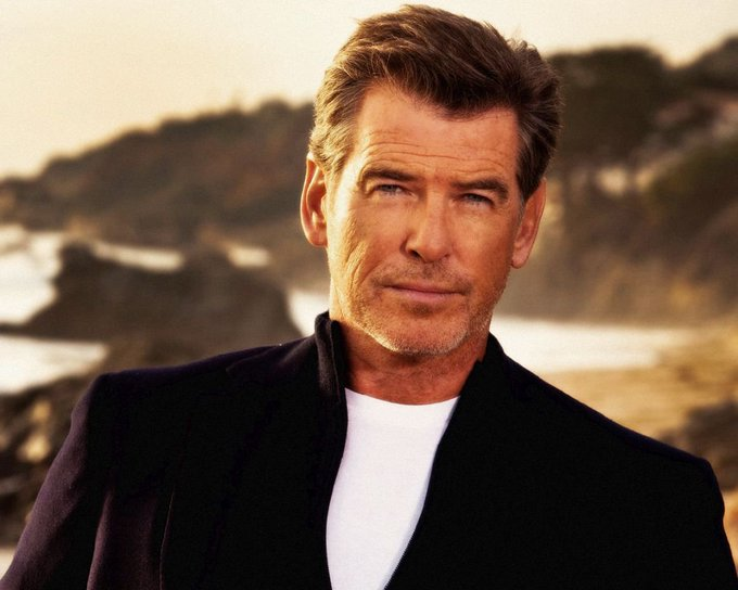 Happy 64th birthday to Pierce Brosnan. Who only had eyes for him as James Bond?