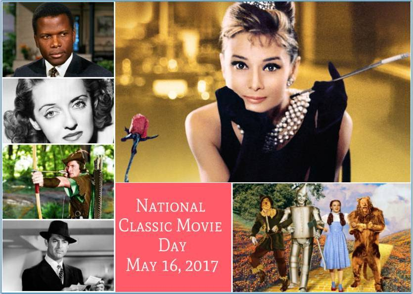 Happy #NationalClassicMovieDay to @tcm  @gettv @MGMHD @moviesunlimited @hammerfilms @AvaMuseum https://t.co/bBecwJMylN