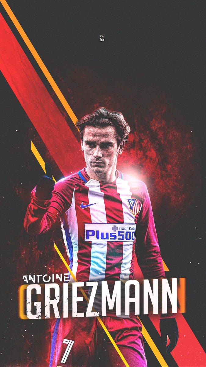 Antoine Griezmann Wallpaper.  #Atletico #LaLiga  @AntoGriezmann   RTs appreciated!<br>http://pic.twitter.com/BHMgzKUWr5