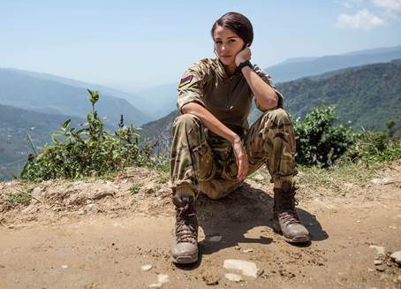 First look photo of Michelle Keegan in Our Girl series3 https://t.co/4lrhJce0wU