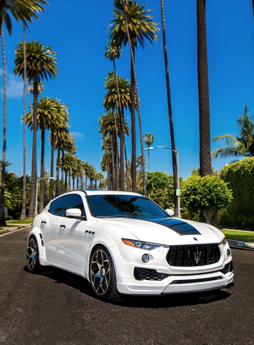 #Novitec #Maserati #Levante #Esteso in #LosAngeles