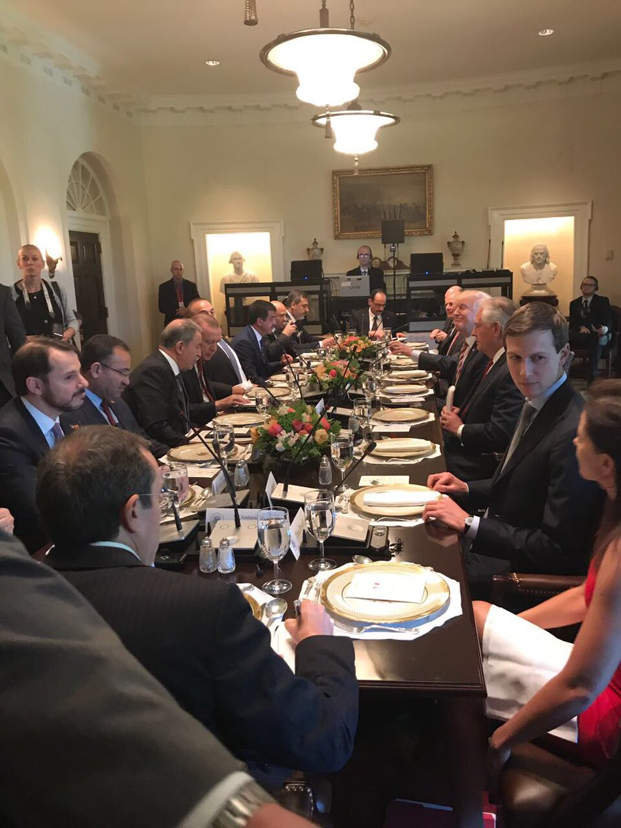 Pic from the Cabinet Room: Trump, McMaster, Mattis, Tillerson, Kushner, Powell