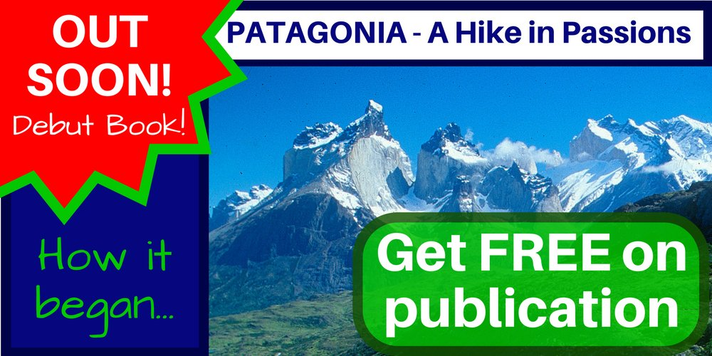 GET UPDATES! &quot;Patagonia - A Hike in Passions&quot; my debut book out soon! Click Here =&gt;  http:// bit.ly/2oYCiK2  &nbsp;    #ttot #nonfiction #chile <br>http://pic.twitter.com/WQBtak3PNf