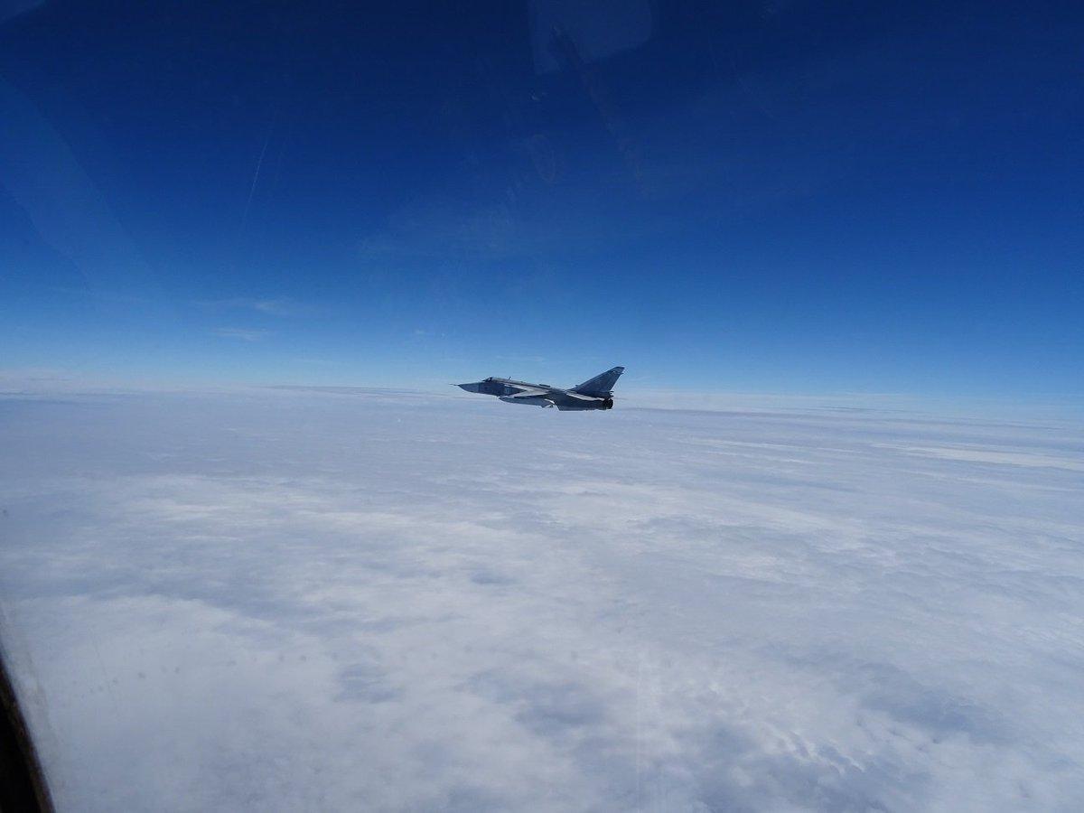Spanish AF F-18 intercepted Russian Sukhoi Su24 over Baltic Sea