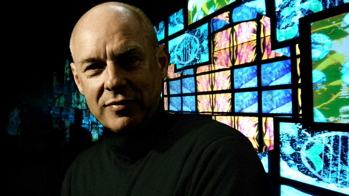 When driven backwards, he becomes the One... Happy 69th birthday to Father Brian Eno today :-)