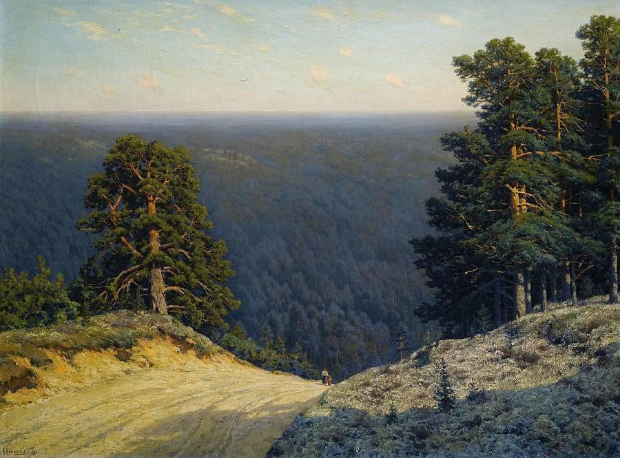 Константин Крыжицкий - «Пейзаж» (1908)