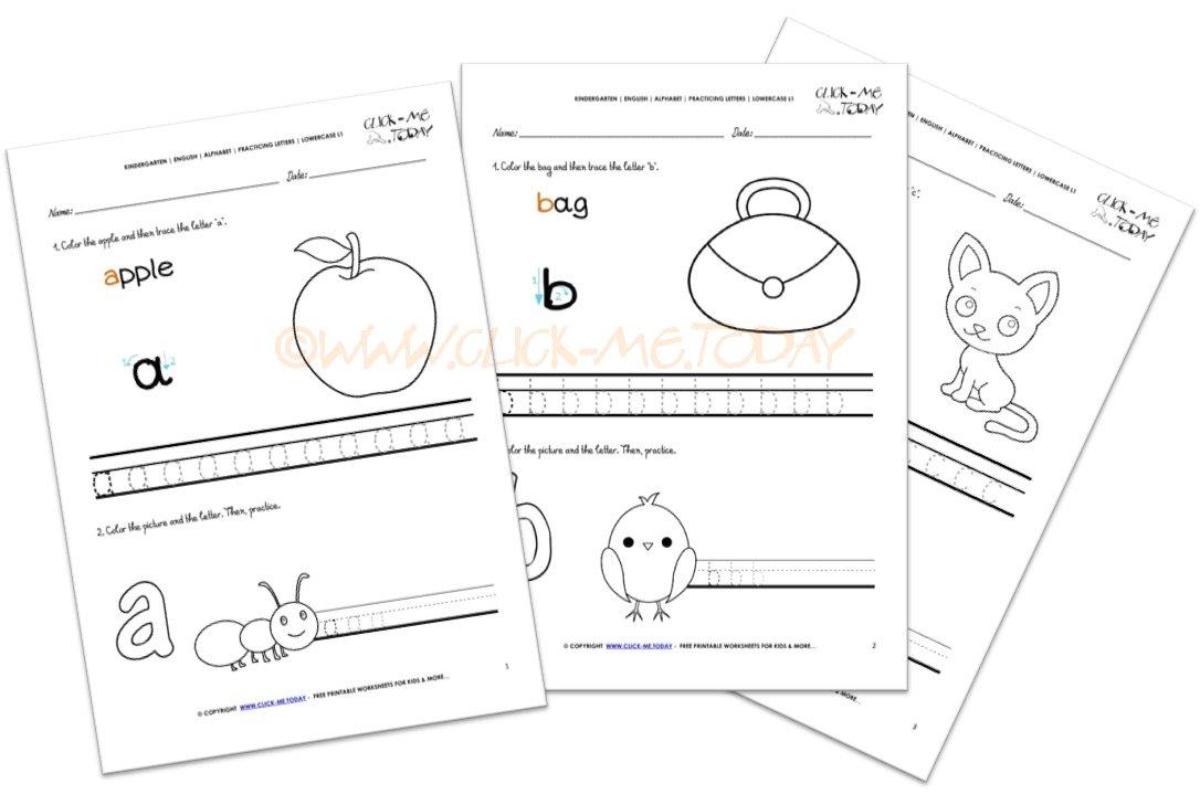 Click Meday On Twitter English Alphabet Writing Worksheets