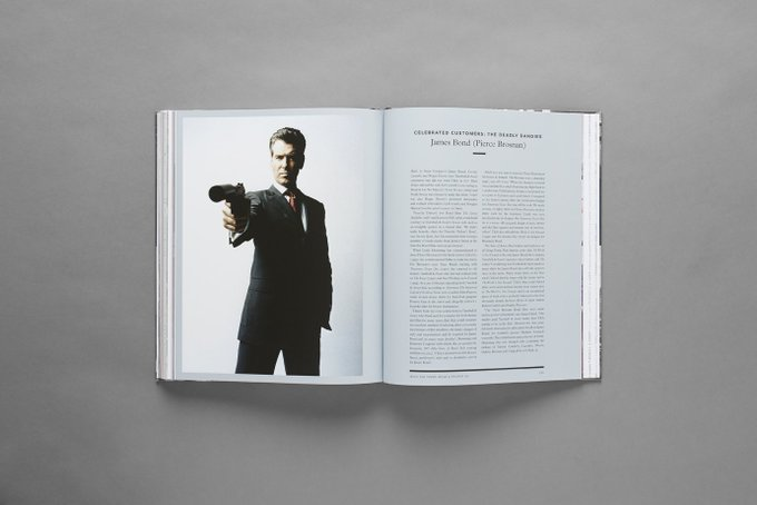 Happy birthday to another 007 Pierce Brosnan. Read all about him in our archive book: