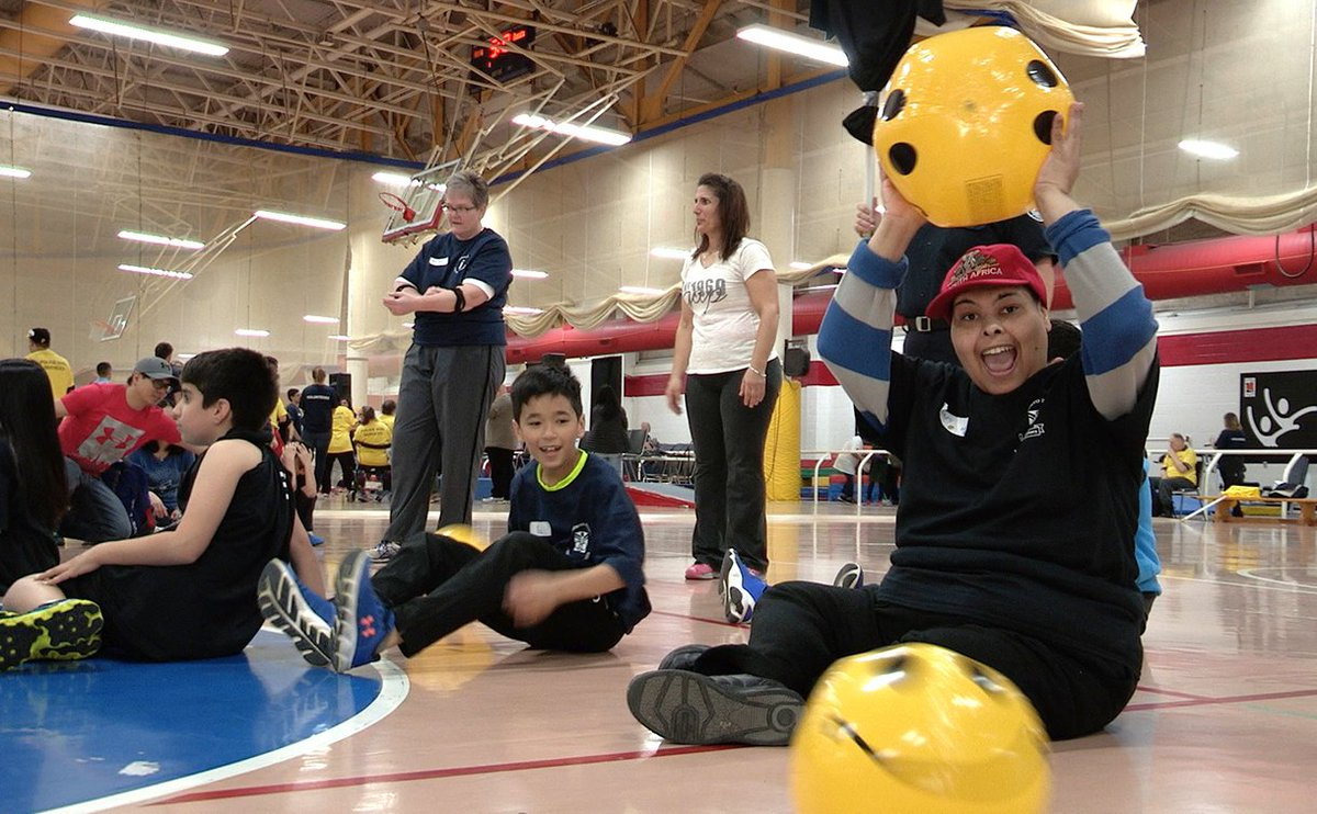 No shortage of inspiration at @VarietyVillage #AllAbilityFacility for @TorontoPolice  http:// tpsnews.ca/stories/2017/0 5/variety-games-inspire-volunteers/  … <br>http://pic.twitter.com/A8A3lWkivH