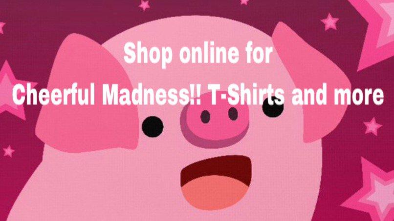 Cheerful Madness Tshirts Kawaii Artist
