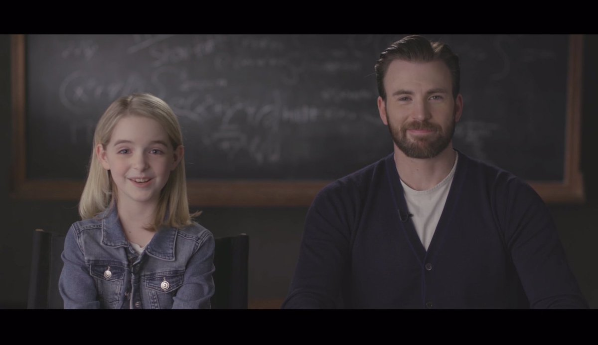.@ChrisEvans & @MckennaGraceful star in #Gifted, releases in UK cinemas June 16th! https://t.co/hwAFN8tOgI