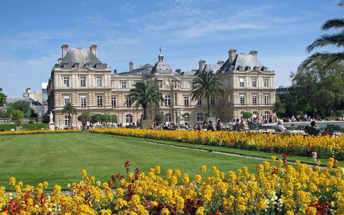 حديقة لوكسمبورج باريس