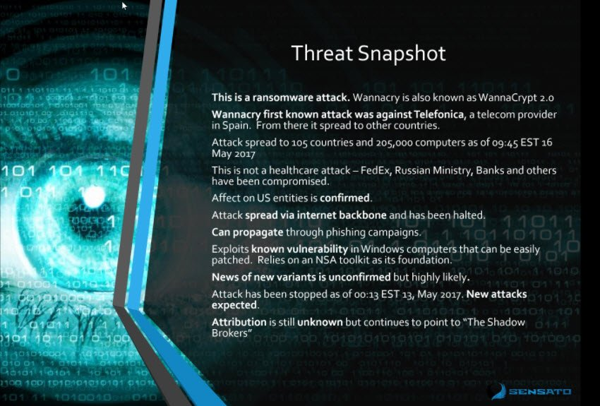 What exactly is #WannaCry? How did it spread? Where/what did it hit? -- Not healthcare-specific, despite impact to NHS #HIStalk https://t.co/pjEBBhEiH0