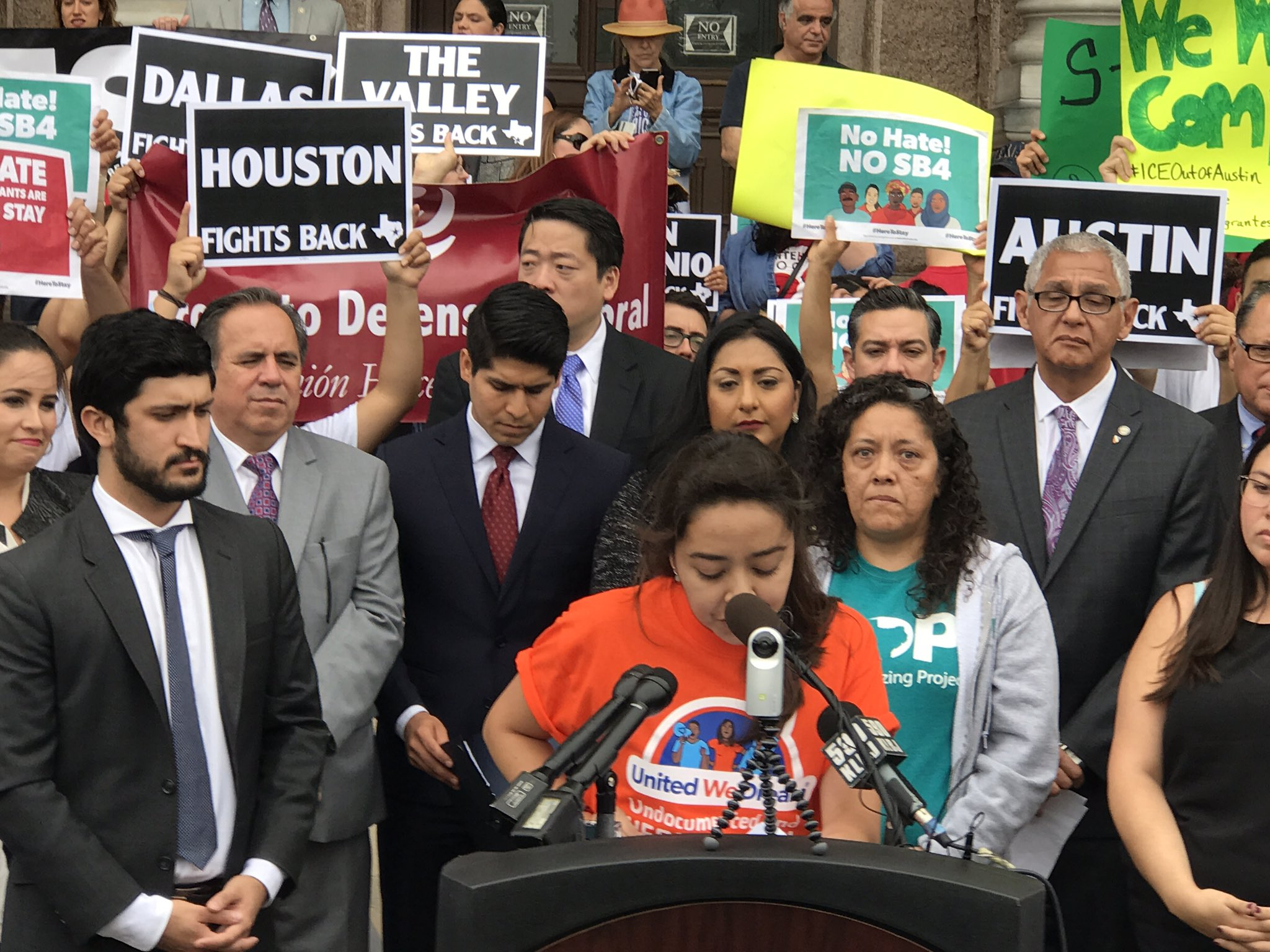 This Summer of Resistance, we call on elected officials across the state to step up too. #SB4isHate #HereToStay https://t.co/SzILPYpFQy