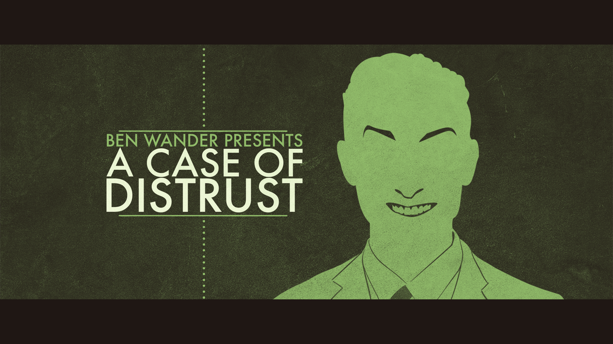 A Case of Distrust indie Game