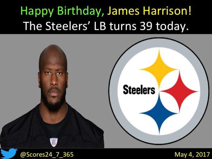 Happy birthday James Harrison!