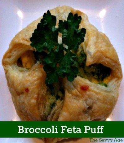 Yum! Easy Broccoli Feta Puff Recipe