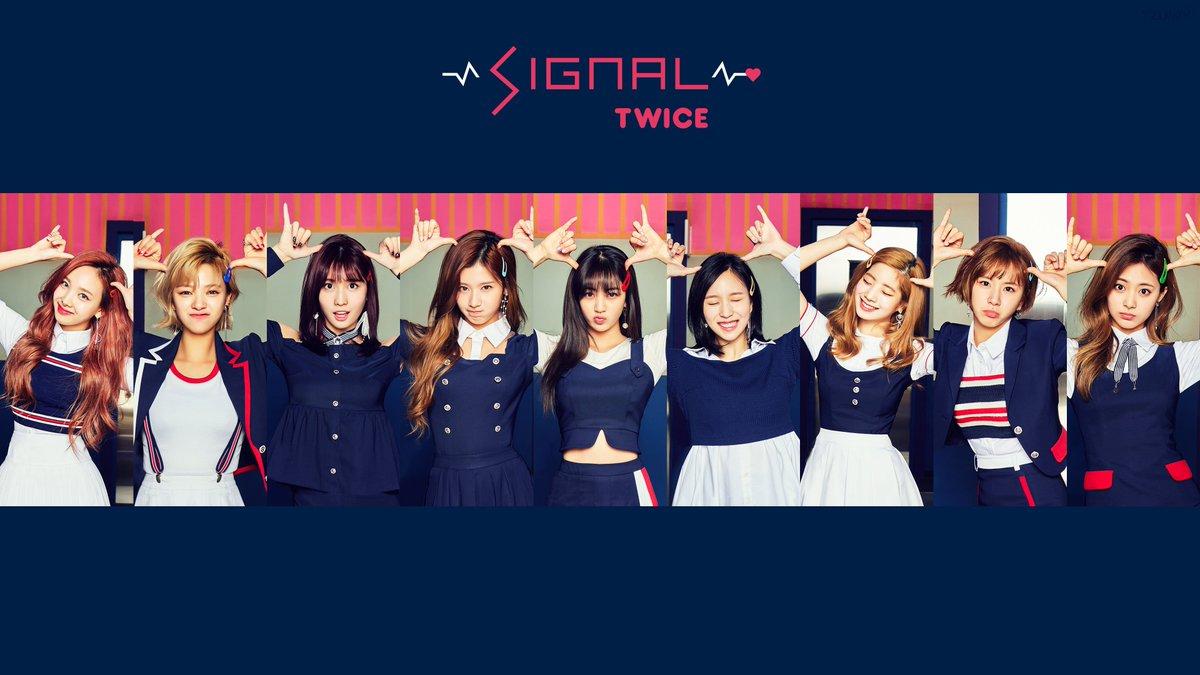 Tzuwy On Twitter Twice 트와이스 Signal 4k Wallpaper Hq Https