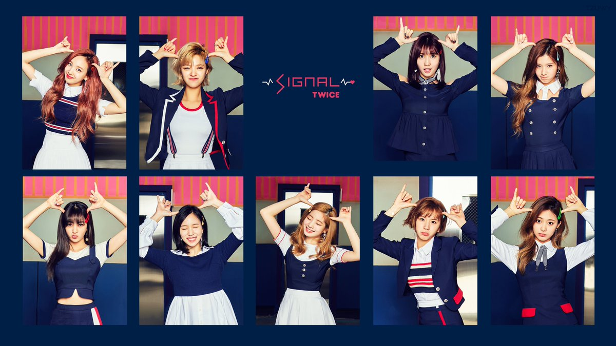 Tzuwy On Twitter Twice 트와이스 Signal 4k Wallpaper Ver 2 Hq