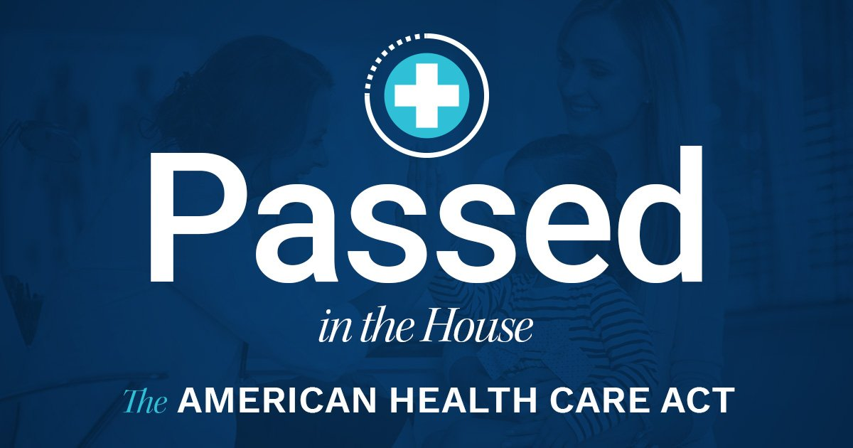 #BREAKING: We voted to #RepealAndReplace Obamacare. #AHCA https://t.co/DJ04pWDMgx