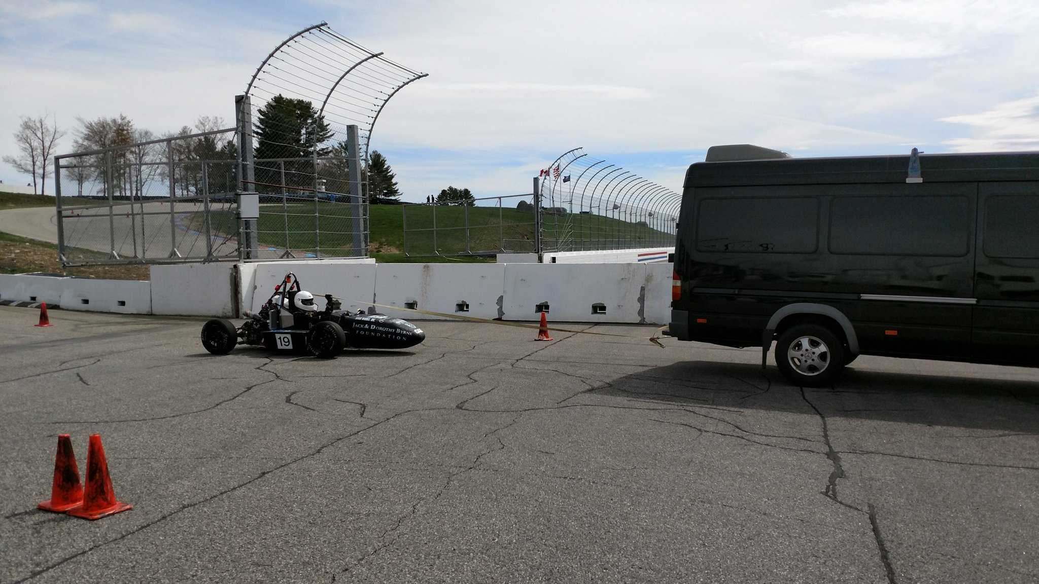 Dartmouth back to the garage. @Formula_Hybrid @Synchronoss @thayerschool https://t.co/4nfnKDRwlr