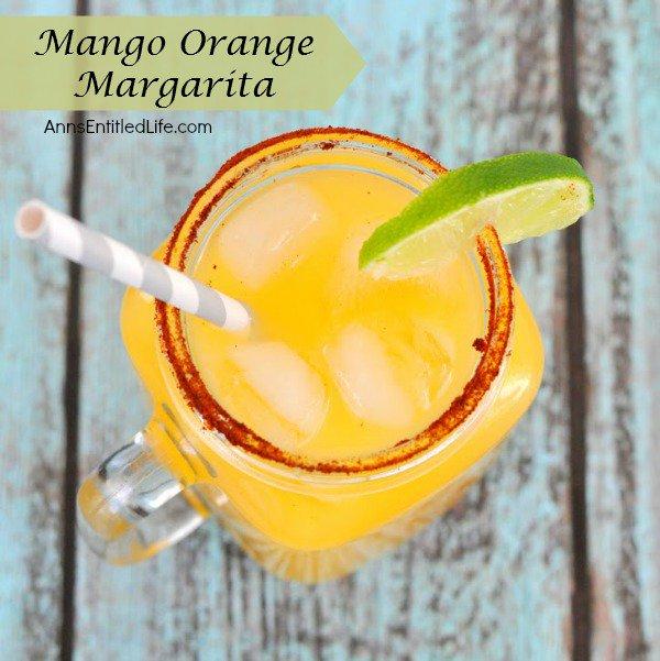 Mango Orange Margarita