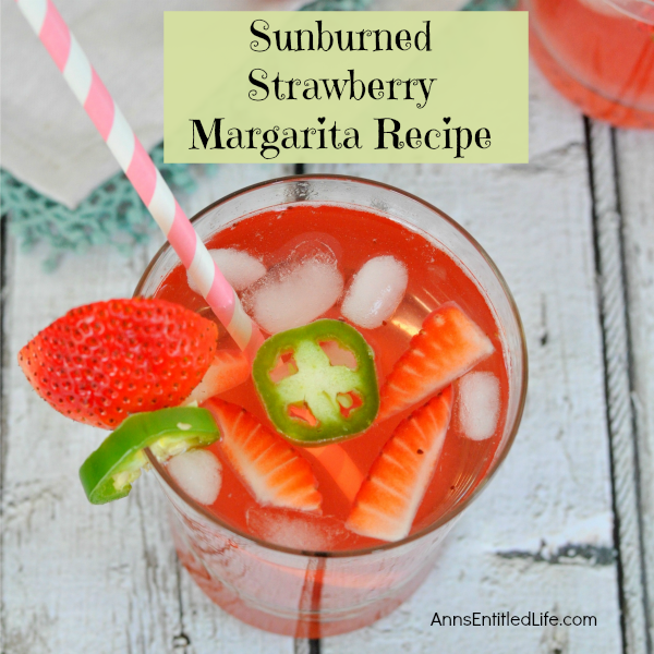 Sunburned Strawberry Margarita Recipe