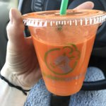 Thanks @Grabbagreen for my delicious IMMUNE fresh pressed juice! #health