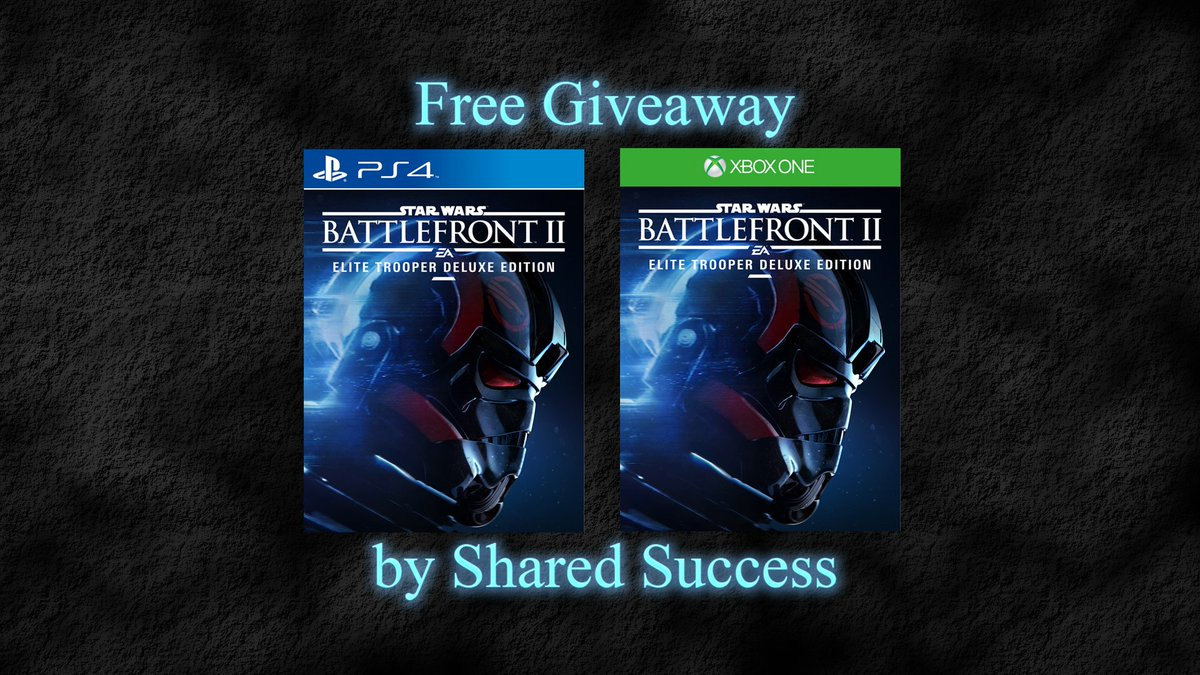 #Gaming #Competition for #StarWarsBattlefrontII #PS4 #XboxOne ~ #RETWEET ~ &amp; #Follow (ENTER TO WIN @shared_success)<br>http://pic.twitter.com/aT8RW0cuyR
