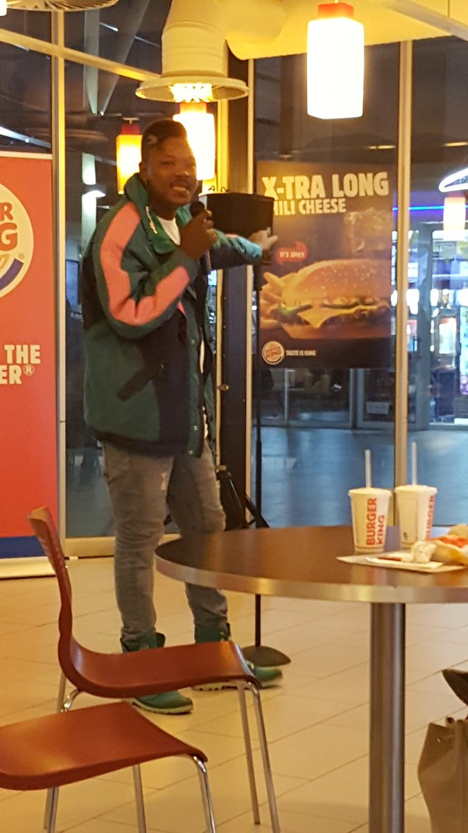 .@TherealTolAssMo had us in stitches tonight at the #Combonation @BurgerKingZA!<br>http://pic.twitter.com/QNpiK8BpWx