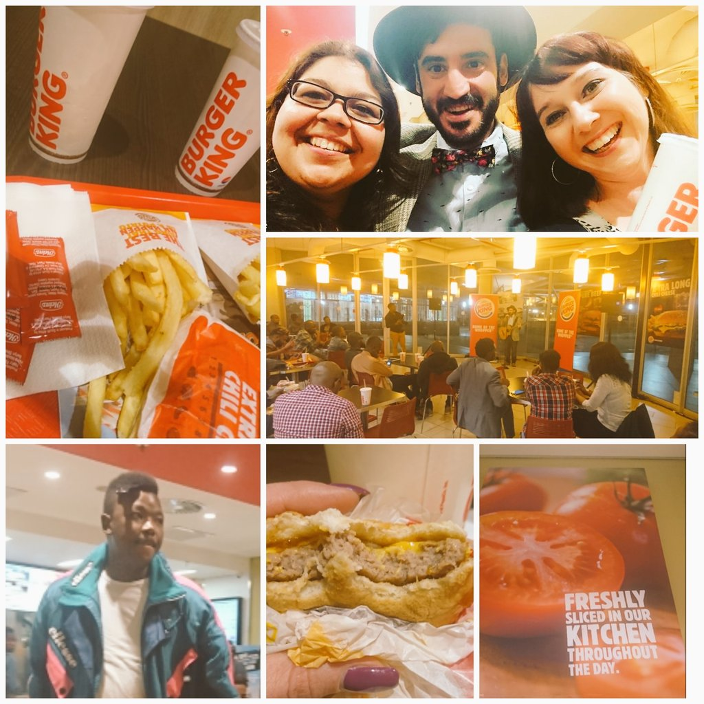 Yay #ComedyCOMBOnation #COMBOnation!  A #ProudlySouthAfrican night out!  Great Grub and Giggles at @BurgerKingZA   <br>http://pic.twitter.com/2lPqa5zDCh