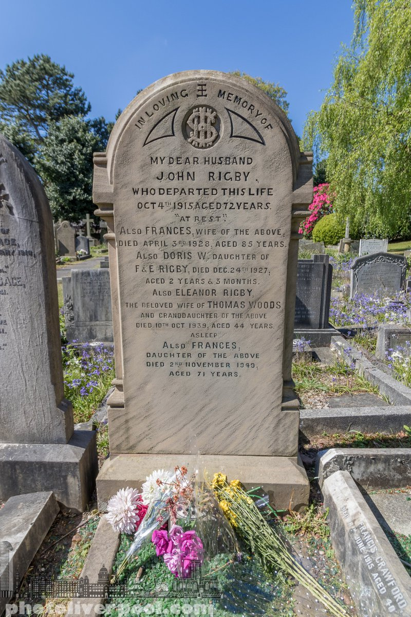 Photo Liverpool On Twitter St Peter S Church Woolton Under Blue Skies Today Where John Lennon Paul Mccartney Met Eleanor Rigby S Grave Which Become A Beatles Song Https T Co Ay45gwk3au