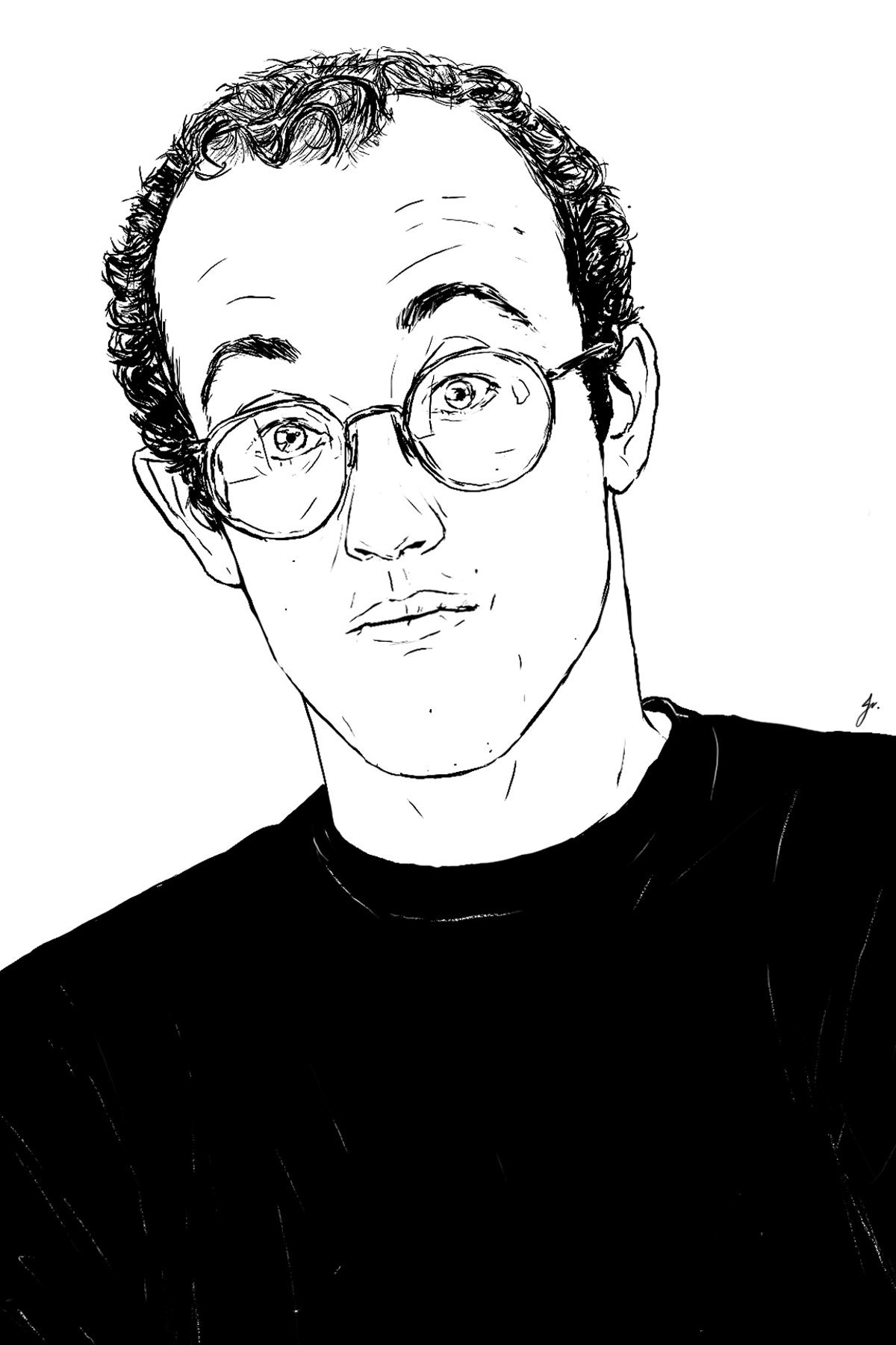 Happy 59th birthday Keith Haring! As is customary here are some of my Keith drawings of the past