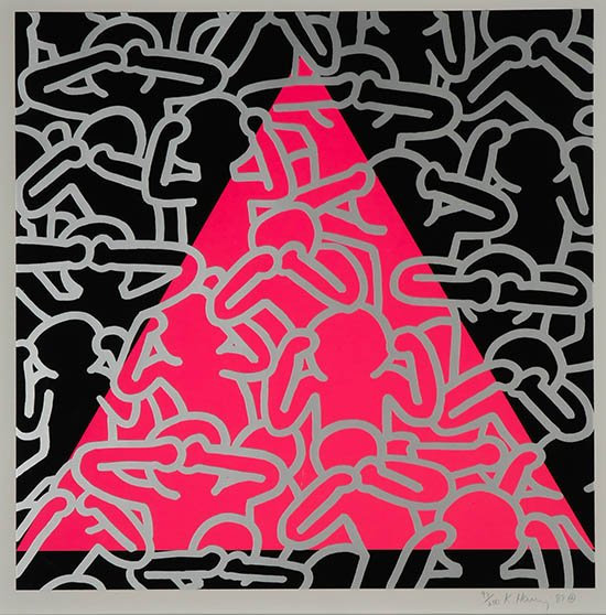 Happy birthday today to American pop art and social activist, Keith Haring!