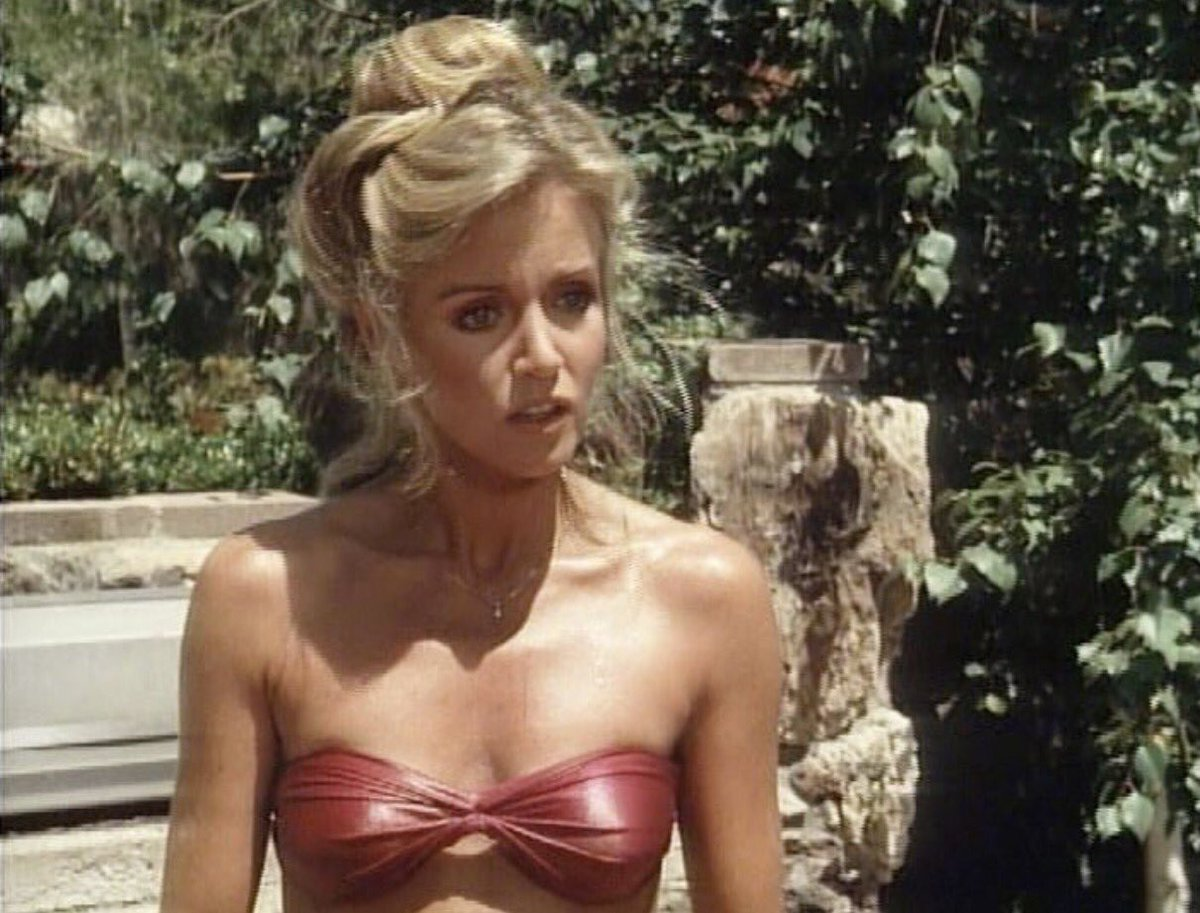 Donna mills bikini