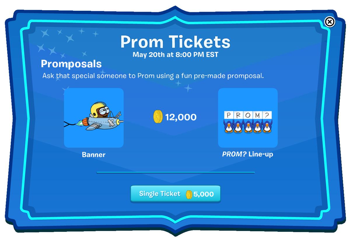 Penguin Oasis Prom