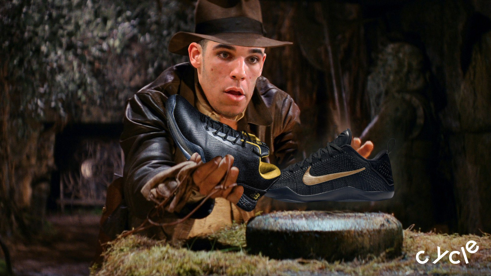 Lonzo Ball: Raider of the Lost Kobes. https://t.co/oKSNeJQasE