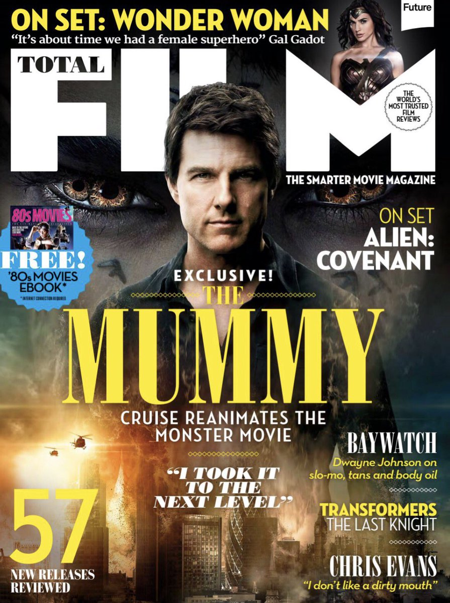 Image result for the mummy magazine front cover