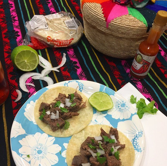 Easy Tacos de Lengua Recipe {Beef Tongue Tacos} * Mixed Blessings Blog