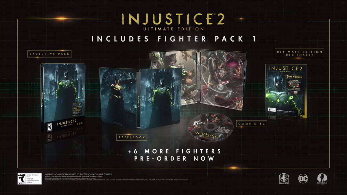 Injustice 2.... First 3 DLC fighters !!! https://t.co/3IO6zDpXiM