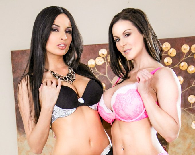 The sexy tag-team of @KendraLust & @AnissaKate is ready on https://t.co/CioL7WtB1j 👭😍  #lustarmy #anissakate